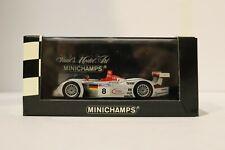 1/43 MINICHAMPS 430 000908 Audi R8R Winner Le Mans 2000 Team Joest w Free ship!