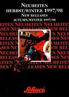 2012SCH Schuco Neuheiten Herbst Winter 1997 1998 Prospekt Modellautos brochure