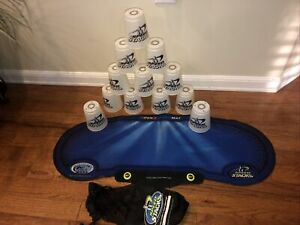 Speed Stacks Set with Gen 3 Stack Mat,  12 White Cups And Bag