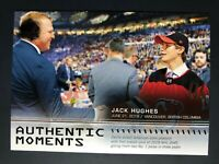 2019-20 SP Authentic Moments Jack Hughes