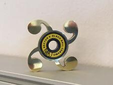 STEAMPUNKFidget Spinner Comma EDC Spinner POLISHED BRASS