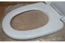 Modern White Soft Close Toilet Seat and Cover