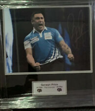 More details for gerwyn price signed framed photo