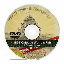 1893 Chicago World's Fair, Columbian Exposition, 50 Classic Books Guides DVD V40