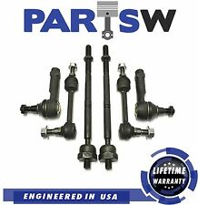 6 Pc Front Suspension Kit for Ford F-150 4WD Models Inner & Outer Tie Rod Ends