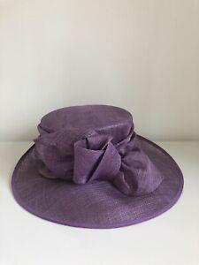 Purple Wedding Mother Of The Bride, Races Hat