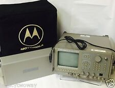 Motorola R2550Az/Hs Communications Analyzer Test Equipment Used