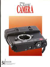 Classic Camera  N.54 Maggio 2005  rivista in italiano collezionismo fotografico