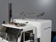 Aluminum 12.3cm Roof Spoiler Wing for Tamiya R/C 1/14 King Grand Hauler Truck