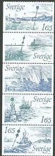 Sweden 1982 Booklet pane New Bouoyage System. Engraver M Mörck. MNH