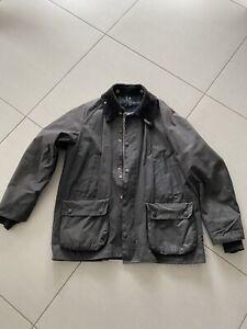 Barbour Wachsjacke Bedale Vintage schwarz C40/102cm – gut erhalten