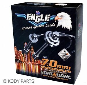 EAGLE IGNITION LEADS - for Hyundai Excel 1.5L DOHC 16v Twin Cam G4FK X3 E74581