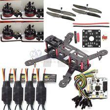250 3K Carbon Fiber Quadcopter Kit Frame CC3D Propeller 2300KV Motor 12A ESC