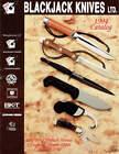 BLACKJACK EK COMMANDO KNIFE 1994 CATALOG - NEAR MINT