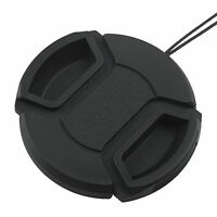 Sale 40.5mm Front Lens Cap Snap-on Cover for Canon Nikon Sony Camera w/String