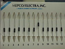 100 Mepco Electra RNC55H1910 191 Ohm Precision Resistors