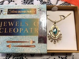 RING BOMB PARTY NECKLACE. CLEOPATRA COLLECTION! SRP$114