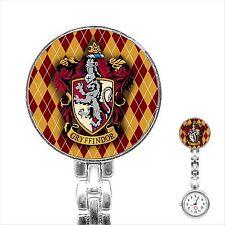 Harry Potter Gryffindor Hogwarts School Stainless Steel Fob Nurse Nurses Watch