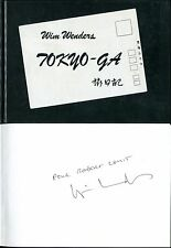 Wim Wenders - Tokyo-ga : Journal filmé - Avec photos - Envoi de W. Wenders - EO