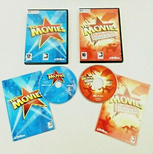 The Movies & The Movies Stunts & Effects Expansion Pack (PC DVD) (CD's VGC)