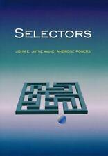 Selectors by C. Ambrose Rogers and John E. Jayne (2002, Hardcover)