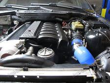 CXRacing Air Intake Flange Pipe 92-98 BMW E36 325i 328i Blue Hose