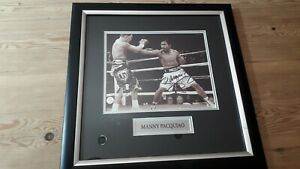 Manny Pacquiao Signed Picture