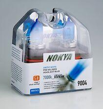 Nokya Headlights 9004 65/45WATT 7000K ARCTIC WHITE NOK7412 Stage 1 NEW