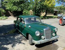 Mercedes Ponton 180 D W120 Bj 1956 Oldtimer Scheunenfund