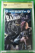 SCOTT SNYDER SIGNED - ALL STAR BATMAN #1 CBCS 9.8 4th World Exclusive Variant