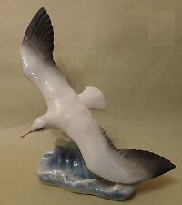 ROSENTHAL HEIDENREICH Blue Bird FLYING SEAGULL Glides Vintage Porcelain FIGURINE
