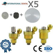 5 Angled Ball Attachment 30° Standard Set Dental Implant Abutment Internal Hex