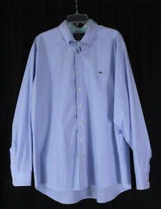 mens blue white stripe VINEYARD VINES slim fit whale dress shirt cotton XXL