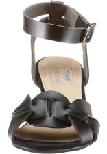 ARIZONA Damen Schuhe Sandaletten Sandalette Sandalen Keilabsatz Schwarz Gr. 38
