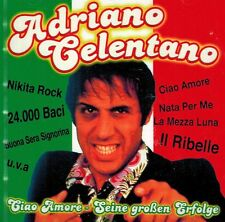 MUSIK-CD NEU/OVP - Adriano Celentano - Ciao Amore - Seine großen Erfolge