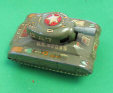 Toy Metal Tank A7 Marusan made Japan very good condition