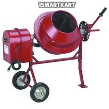 1-1/4 Cu Ft Electric Cement Concrete Stucco Mixer