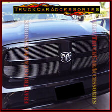 For DODGE Ram 1500 2013 2014 2015 2016 Polished 4PC Upper Main OVERLAY Grilles