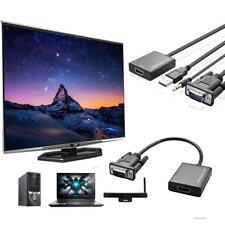 VGA zu HDMI Ausgang 1080P HD Audio TV AV HDTV Video-USB-Kabel-Konverter-Adapter
