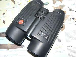 LEICA TRINOVID 8 x 42BN ROOF PRISM BINOCULARS - VERY CLEAN EXAMPLE - GREAT VIEWS