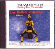 National Dance Company Republic Guinea Les Ballets Africains Heritage CD