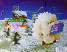 GROW YOUR OWN MAGIC FLOWER USING CARDBOARD AND CRYSTAL SOLUTION. PACK of 10