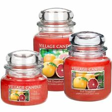 Village Candle Grande Candela profumata Pink Grapefruit 170 ore 26 OZ