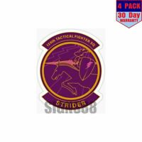 Ace Combat Strider Squadron 4 pack 4x4 Inch Sticker Decal