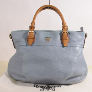AUTHENTIC MCM Leather  Shoulder Bag  + Dust Bag.