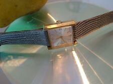 Vintage BENRUS 17j Unisex Wristwacht 20microns Gold  Model CZ 232 RUNS GREAT