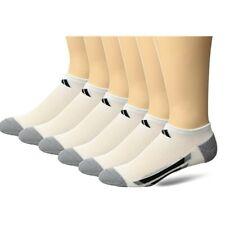 Adidas Youth- Boys/Girls Cushioned No Show Socks (6-Pair) Shoe Size 3Y-9Y  10650
