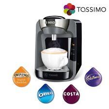 Bosch Tassimo Suny TAS3202GB Costa Coffee Machine Hot Drinks 1300W Black 0.8L