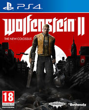 Wolfenstein 2 The New Colossus PS4 Playstation 4 IT IMPORT BETHESDA
