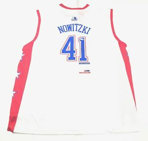 Dirk Nowitzki signed jersey PSA/DNA Dallas Mavericks Autographed Allstar